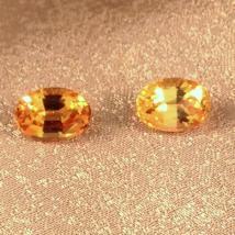 Imperial Topaz Jewelry • Ring • Earrings