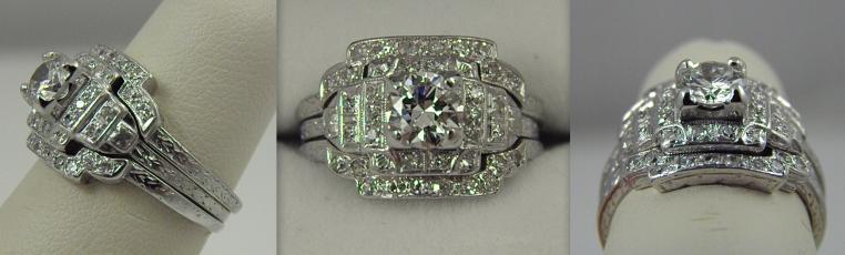 Art Deco Jewelry • Art Deco Rings