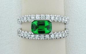 Emerald Alternatives • Tsavorite Garnet • Green Tourmaline