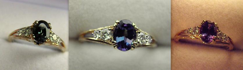 Fine Alexandrite Ring