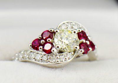 fwcj 90ct K S1 ruby custom ring 01