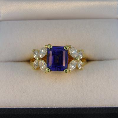 Amazing Tanzanite Ring