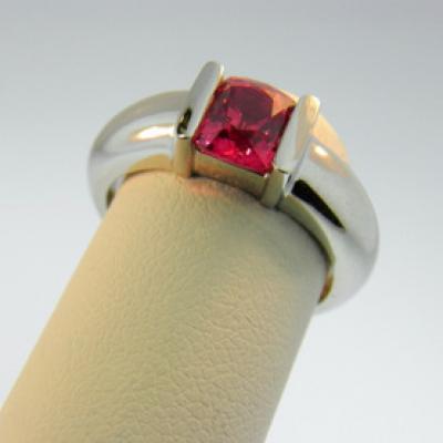 Burma Pink Spinel Ring