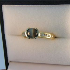 Cat s Eye Alexandrite Ring