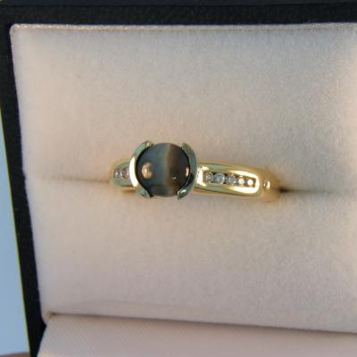 Cat s Eye Alexandrite Ring