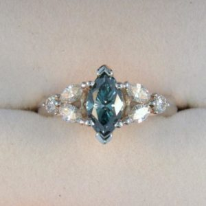 CroppedImage400400 1.05ct marquis blue diam ring