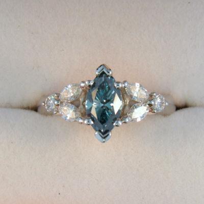 CroppedImage400400 1.05ct marquis blue diam ring