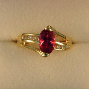 CroppedImage400400 1.07ct rubellite ring