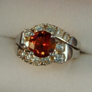 CroppedImage400400 1.92ct hessonite ring
