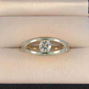 CroppedImage400400 Bens custom diamond ring