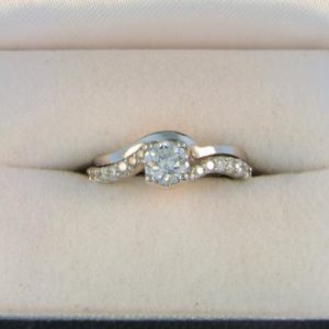 CroppedImage400400 WG .47ct SI1 G Diam ring with custom band