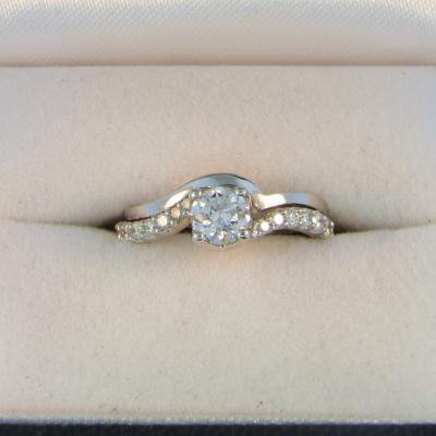 CroppedImage400400 WG .47ct SI1 G Diam ring with custom band