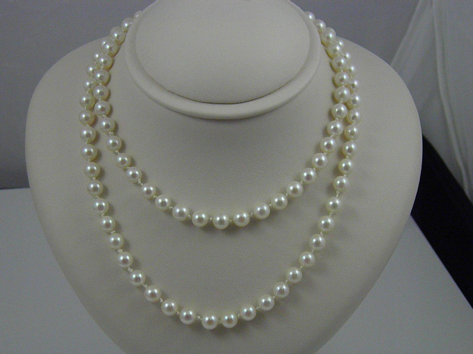 d6578ea20142b Estate Mikimoto Pearl Necklace - Federal Way Custom Jewelers
