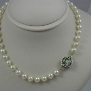 Estate Cultured Saltwater Pearl Strand 1
