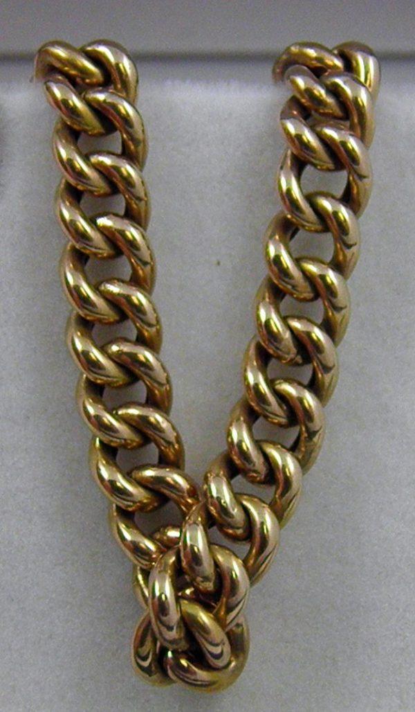 European 8k Rose Gold Bracelet c.1914 1