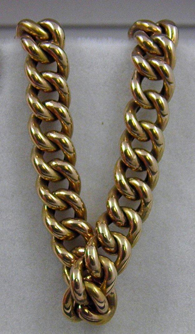 European 8k Rose Gold Bracelet c.1914 - Federal Way Custom Jewelers