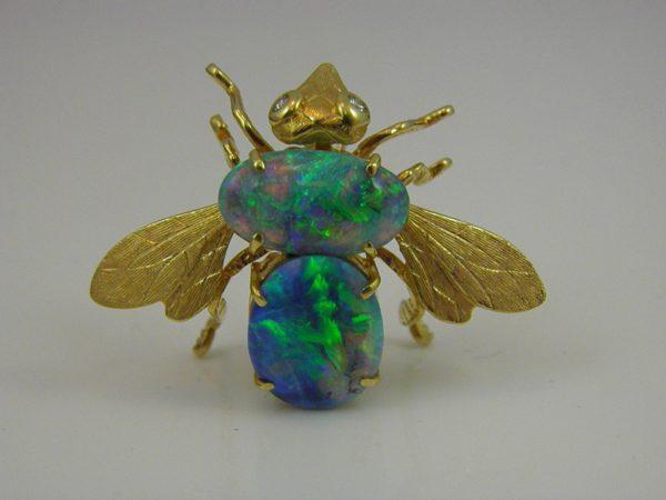 Fredrick  the Opal and Diamond Bee Rosenthal 1