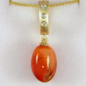 Mexican Opal Pendant
