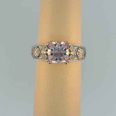 Morganite Right Hand Ring