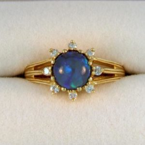 Opal Earth Ring