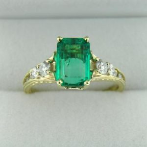 Top Gem Emerald Ring
