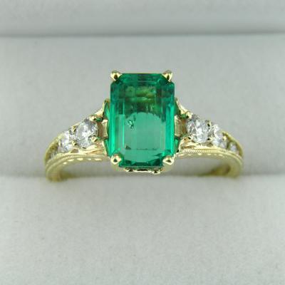 Top Gem Emerald Ring