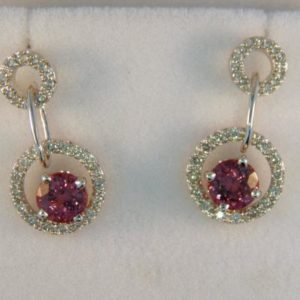Umbalite Garnet Earrings