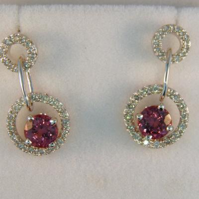 Umbalite Garnet Earrings