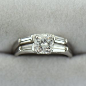 Vintage Wedding Set Restoration 2