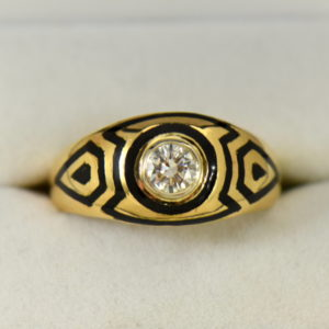 Mens Ring Repair Enamel Restoration 1