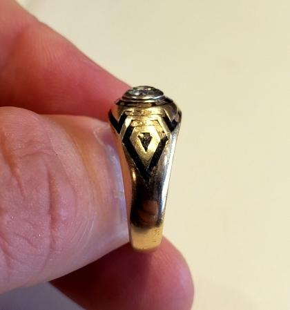 Mens Ring Repair Enamel Restoration 3