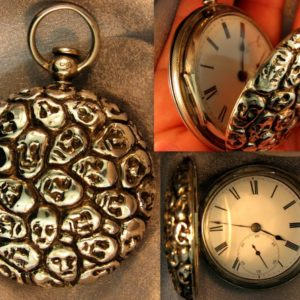 lalique esque pocket watch