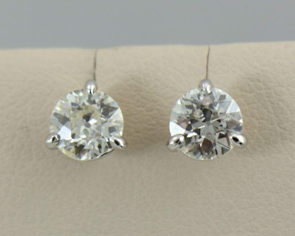 97ctw old european cut diamond martini stud earrings 2.JPG