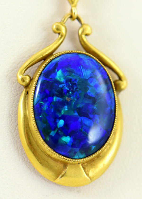 Gina Nouveau Black Opal Necklace 3.JPG