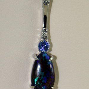 Bouler Opal  Sapphire Pendant 3.JPG