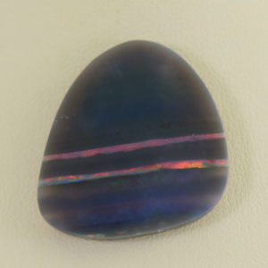 Grey Base Striped Opal Guitar Pick Specimen 5.JPG