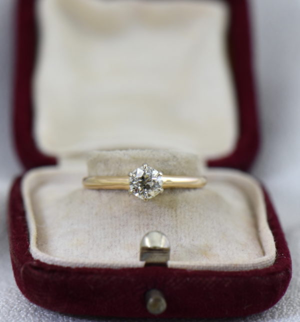 Half Carat Old European Diamond Solitaire Ring 2.JPG