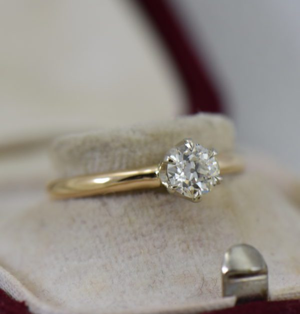 Half Carat Old European Diamond Solitaire Ring 5.JPG