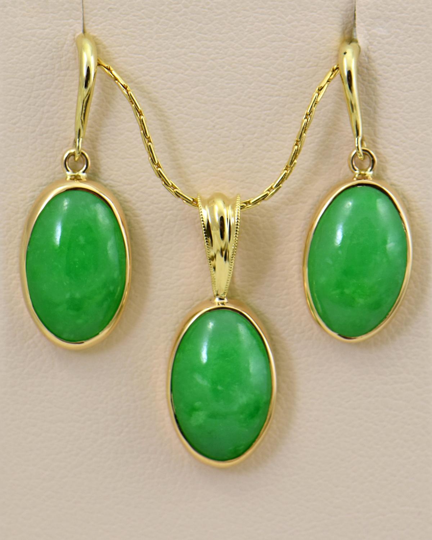Burmese Jade Pendant Jadeite Pendant