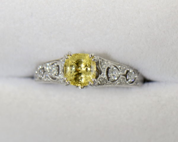 Unheated Butter Yellow Sapphire Engagement Ring 5.JPG