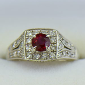 Vintage Style Halo Ruby Ring 3.JPG