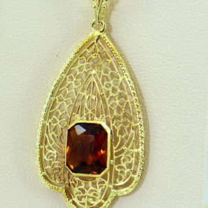 Deco Filigree Pendant with Madeira Citrine.JPG