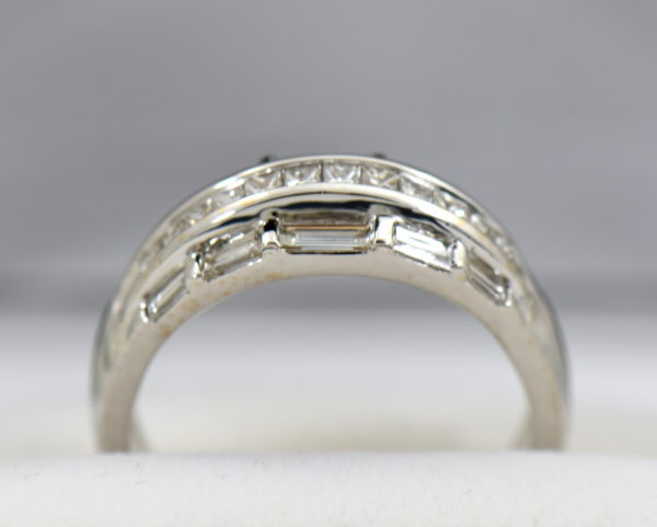 Wide Diamond Channel Band with Princess and Baguettes in 18k 4.JPG