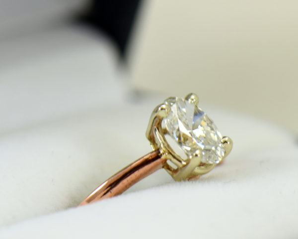 1ct oval diamond solitaire rose gold engagement ring.JPG