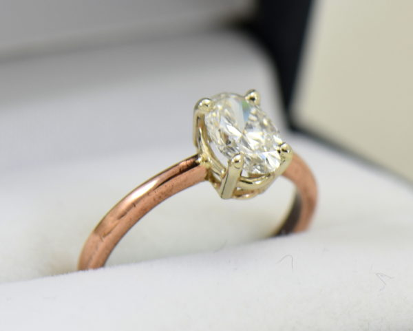 1ct oval diamond solitaire rose gold engagement ring 3.JPG