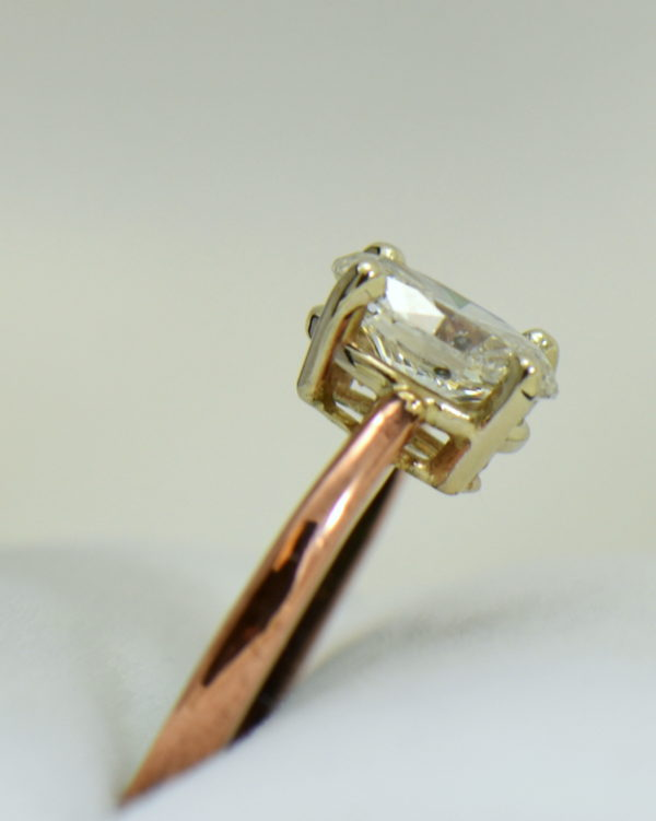 1ct oval diamond solitaire rose gold engagement ring 4.JPG