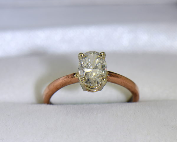 1ct oval diamond solitaire rose gold engagement ring 6.JPG