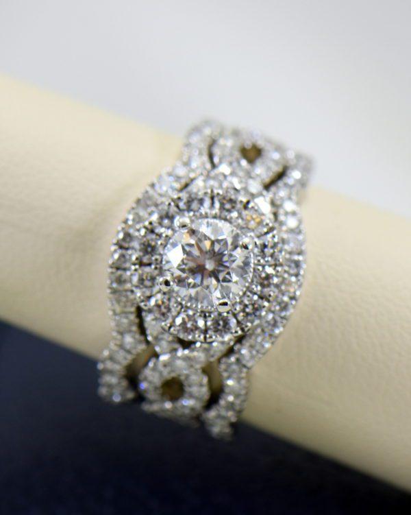 75ct round neil lane diamond ring with framing wedding bands in white gold.JPG