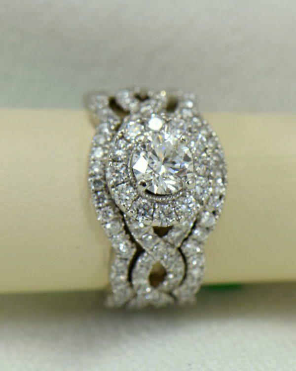 75ct round neil lane diamond ring with framing wedding bands in white gold 2.JPG
