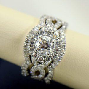 75ct round neil lane diamond ring with framing wedding bands in white gold 6.JPG